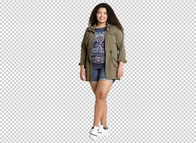Clipping Path image masking sample image for after