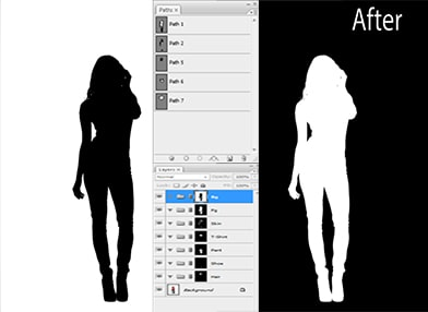 Clipping Path image masking sample image for before